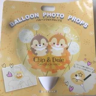 (日本限定)Chip n Dale 大鼻鋼牙心心汽球