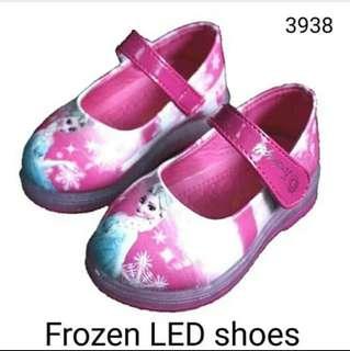 sepatu led frozen
