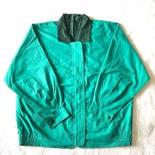 綠色雙面穿風衣