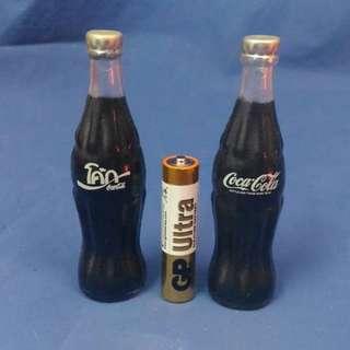 絕版 Coca cola refrigerator magnet 可口可樂雪櫃磁石貼 (英文字及泰文字)