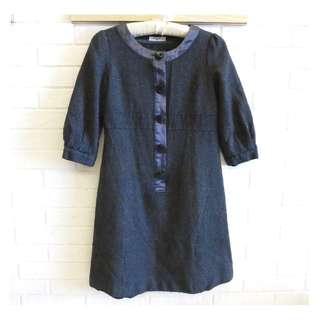 日本品牌 NATURAL BEAUTY 簡約時尚洋裝 M