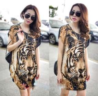Korean tiger dress