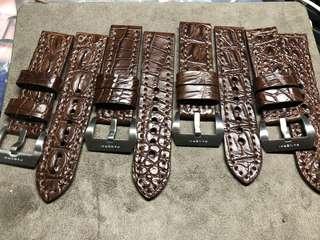 🚚 沛納海 鱷魚錶帶 (24尺寸)