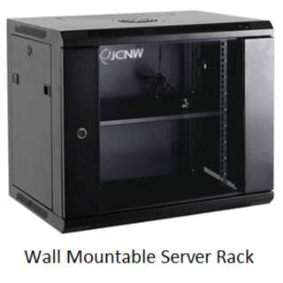 Server Rack - Wall Mountable & Stand 6U, 9U, 18U and above