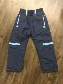 Unisex reversible pants for winter