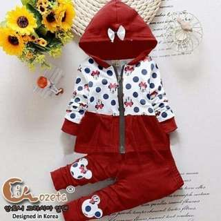 Baju Setelan Anak Mickey Mouse