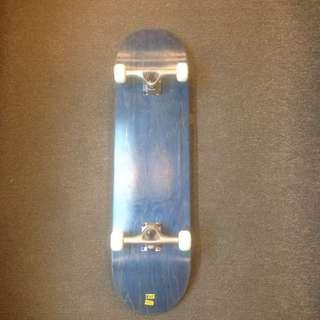 Complete set blank skateboard