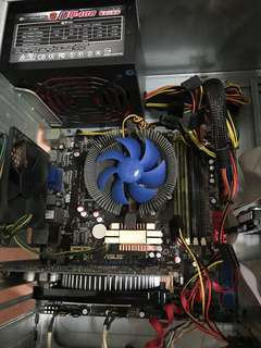 🚚 主機板 power 480 顯示卡 gt630 記憶體6g