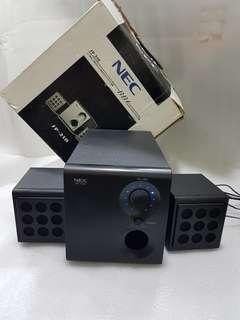 NEC 2.1 Multimedia Subwoofer System