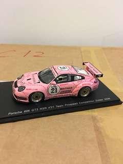 1/43 Porsche 996 GT3 RSR #21. 2006. Spark