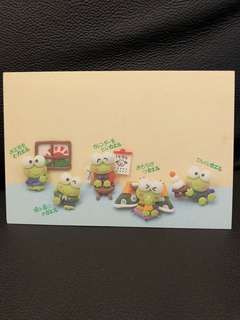 Sanrio Kerokerokeroppi 青蛙 post card