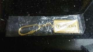 1990年萬事得(Mazda 121)-鍍金匙扣