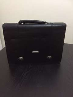 BN Authentic leather Briefcase