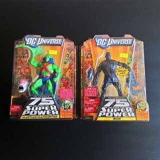 DC Martian Manhunter And Iron