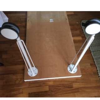 Ikea desk legs x 2  Krille /Vika Runtorp