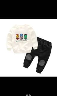 *New* Avengers Sweater and Pants for kids