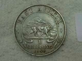 British East Africa 1shilling