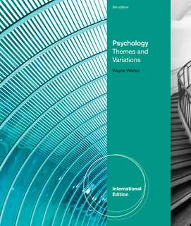 Foundation psychology themes and variations