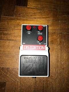 Rare Tokai vintage distortion pedal