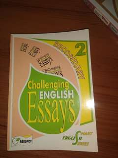Challenging English Essays - sec 2