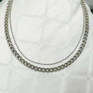 Fancy Silver Necklace