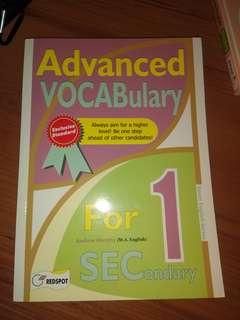 Advanced Vocabulary - sec 1