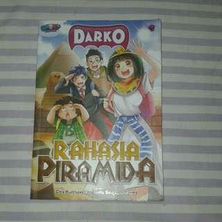 Buku Komik Rahasia Piramida