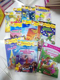 Geronimo Stilton + Thea Stilton Books : Various titles