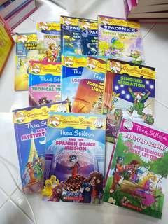 Geronimo Stilton + Thea Stilton Books : Various titles