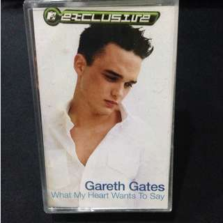 Gareth Gates - What my heart wants to say Cassette