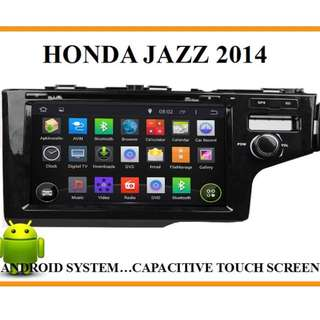 Honda Jazz 14-18 9inch DVD Android Player(FREE CAMERA)