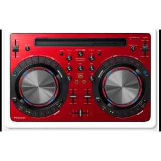 Pioneer DDJ-WEGO3數位控制器 紅色原價13900 優惠6000割愛
