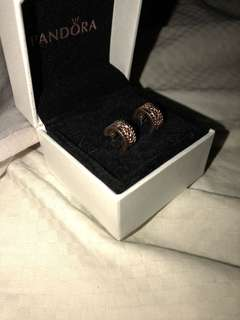 rose gold ring earrings