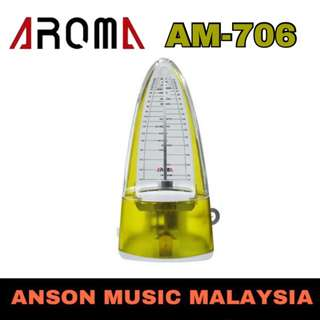 Aroma Mechanical Metronome AM-706, Yellow