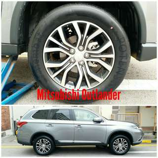 Tyre 235/60 R18 Membat on Mitsubishi Outlander 🐕 Super Offer 🙋♂️