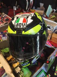 AGV CORSA IALLONE ORIGINAL SIGN