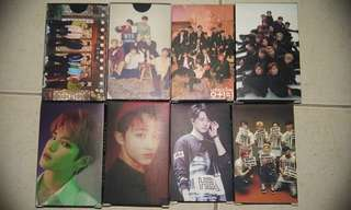 BTS/WANNA ONE/NCT2018/GOT7 Lomo Card Set