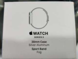 iWatch Series 3 - GPS (Silver Aluminium)