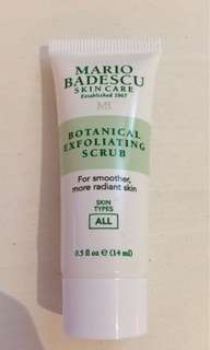 Mario Badescu Botanical Exfoliating Scrub 14ml