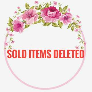 Sold Items Deleted