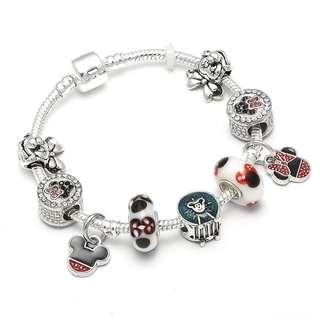 Mickey and Minnie Bracelet