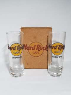 Singapore Hard Rock Cafe Classic Shot Glass, Collectible