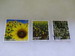 Thailand Stamps 3V Used