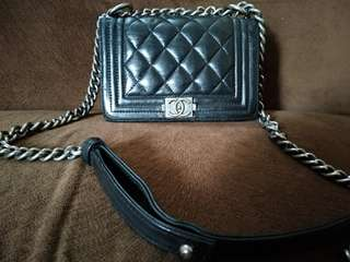 Chanel boy made in italy