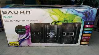 Barely used - Bluetooth sound system!