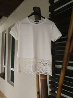 White Lace Top #20under