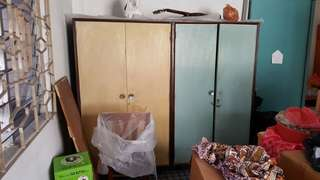 2 antique wooden wardrobe for sale