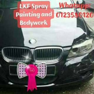 All Types Car Spray Paint and Body Polish Specialist Services