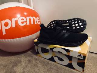 Adidas Ultraboost 3.0 Triple Black LTD US 9.5