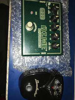 Dead heavy distortion pedals